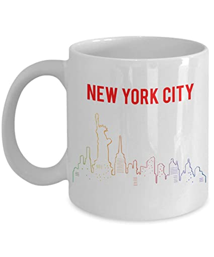 New York City Mug Coffee Tea Cup Funny Hot Cocoa Novelty Birthday Christmas