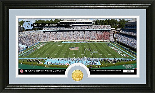 NCAA North Carolina Tar Heels Stadium Coin Panoramic Photo Mint, 22