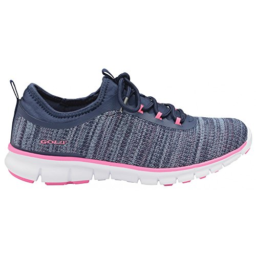 Gola Womens/Ladies Lovana Sneakers Navy/Pink qEzdkr4Rc