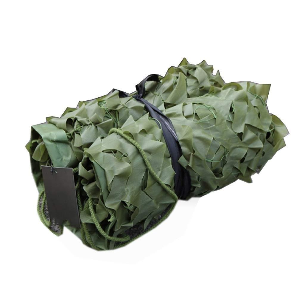 2×3メートル迷彩ネット陸軍射撃迷彩ネットキャンプ隠す軍用森林サンシェードネットオックスフォード生地シェード装飾寝室ガーデンパーティー B07QQT5PDP   3m×4m