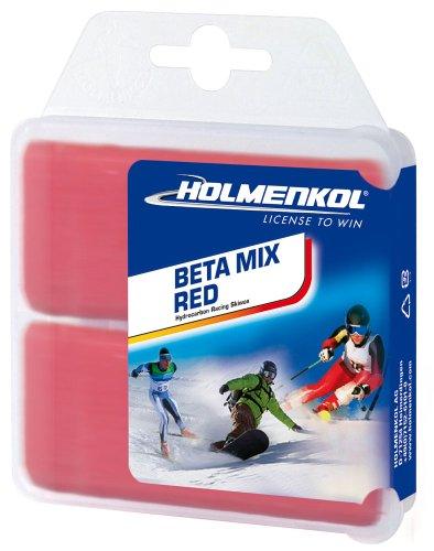 Holmenkol Skiwachs BetaMix red, 2 x 35g