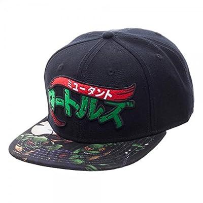 Teenage Mutant Ninja Turtles Flat Brim Sublimated Bill Snapback Baseball Cap