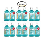 PACK OF 6 - Equate Antiseptic Mouthrinse, Blue Mint, 1.5 L, 2 Ct