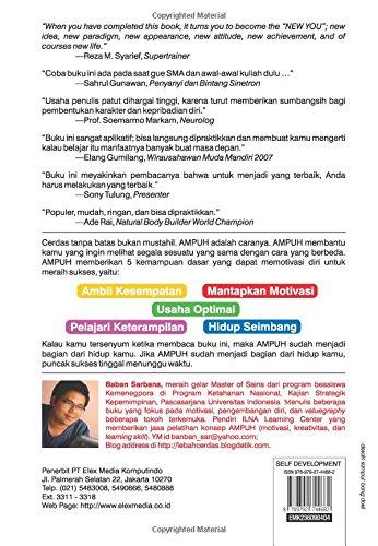 Ampuh Cerdas Tanpa Batas (Indonesian Edition): Baban Sarbana: 9789792744682: Amazon.com: Books