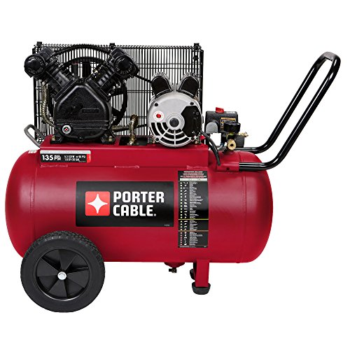 Porter Cable PXCM202 Portable Belt Drive Air Compressor, 20 gallon