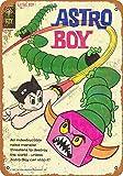 HarrodxBOX Astro Boy Comic Novelty Aluminum Metal Sign Post Wall Decoration for Men