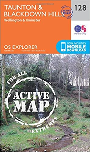 Taunton and Blackdown Hills (OS Explorer Map)