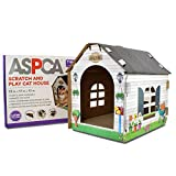 ASPCA ACC Festive Cat Scratch House