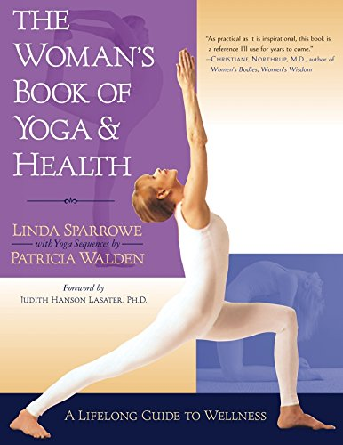 Womans Book Yoga Health Lifelong