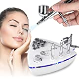 Facial Machine, 2 in1 Professional Diamond Microdermabrasion Dermabrasion Machine Facial Care Skin Equipment Water Spray Exfoliation Beauty Machine For Removal Wrinkle for Home Use M