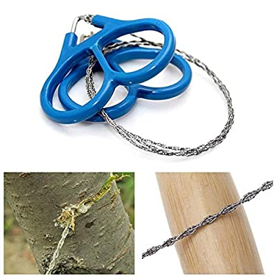 Outdoor Steel Wire Saw Scroll Emergency Travel Camping Hiking Survival Tool from Huberyshop