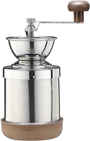 Cafe De Tiamo Stainless Steel Hand Coffee Grinder Skerton Hg6063