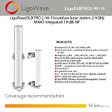LigoWaveDLB PRO 2-90-19 outdoor base-station 2.4 GHz MIMO Integrated 19 dBi 90°