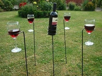 Amazon.com: Jardín de vino y titular de vidrio – Estos ...