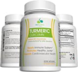 Turmeric Curcumin 95% Curcuminoids Capsules with BioPerine Black Pepper Extract, Supplement for Arthritis Pain, All Natural Joint Pain Relief (60 Capsules, 30 Day Supply) For Sale