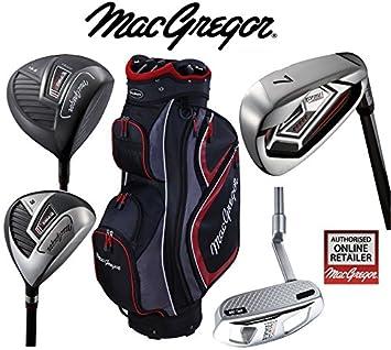 MacGregor Response Deluxe - Juego de palos de golf de acero ...