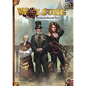 Micro Art Studios Wolsung Steampunk Skirmish Rulebook