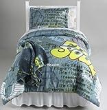 Cannon Teen Full/Queen Graffiti Comforter Mini Set