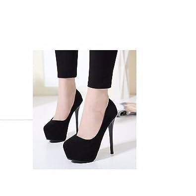 ca28cb38a91 HL-Super high heels 14cm single shoes