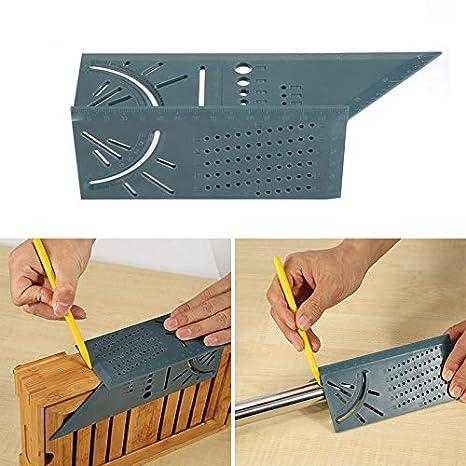 Holzbearbeitung 3D Gehrungswinkel messen quadratische Größe Messwerkzeug