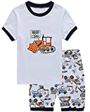 Babypajama Truck Sleepwear Little Boys Cotton Short Pajama Set T Shirt & Pant