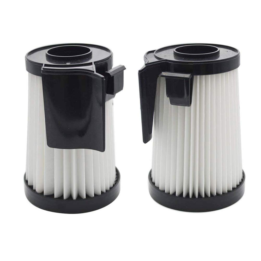 EZ SPARES 2Pcs Eureka DCF-10 & DCF-14 Filter Hepa Fits Optima Series Replacement Attachment Compatible Part # 62731 & 62396