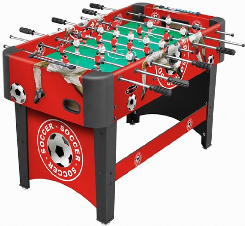 Playcraft Sport Foosball Table, Red, 48-Inch (Sports Table Foosball)
