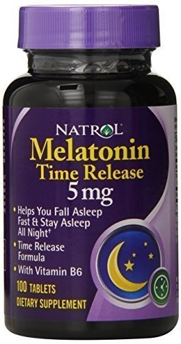 Image Unavailable. Image not available for. Color: Natrol Melatonin Time Release ...