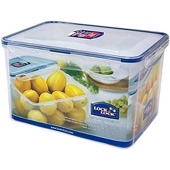 Merveilleux LOCK U0026 LOCK Airtight Rectangular Tall Food Storage Container 152.16 Oz /  19.02 Cup