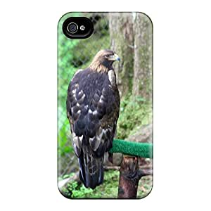 High Quality Shock Absorbing Case For Iphone 4/4s-golden Eagle
