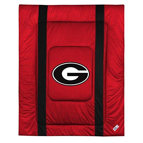 NCAA Georgia Bulldogs Sideline Comforter (Sidelines Twin Comforter)