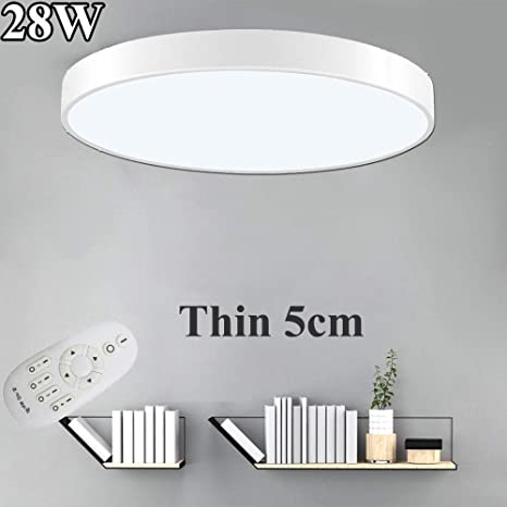 7 in Daylight White LED Flushmount Ceiling Light Lampholder Replacement Fixture