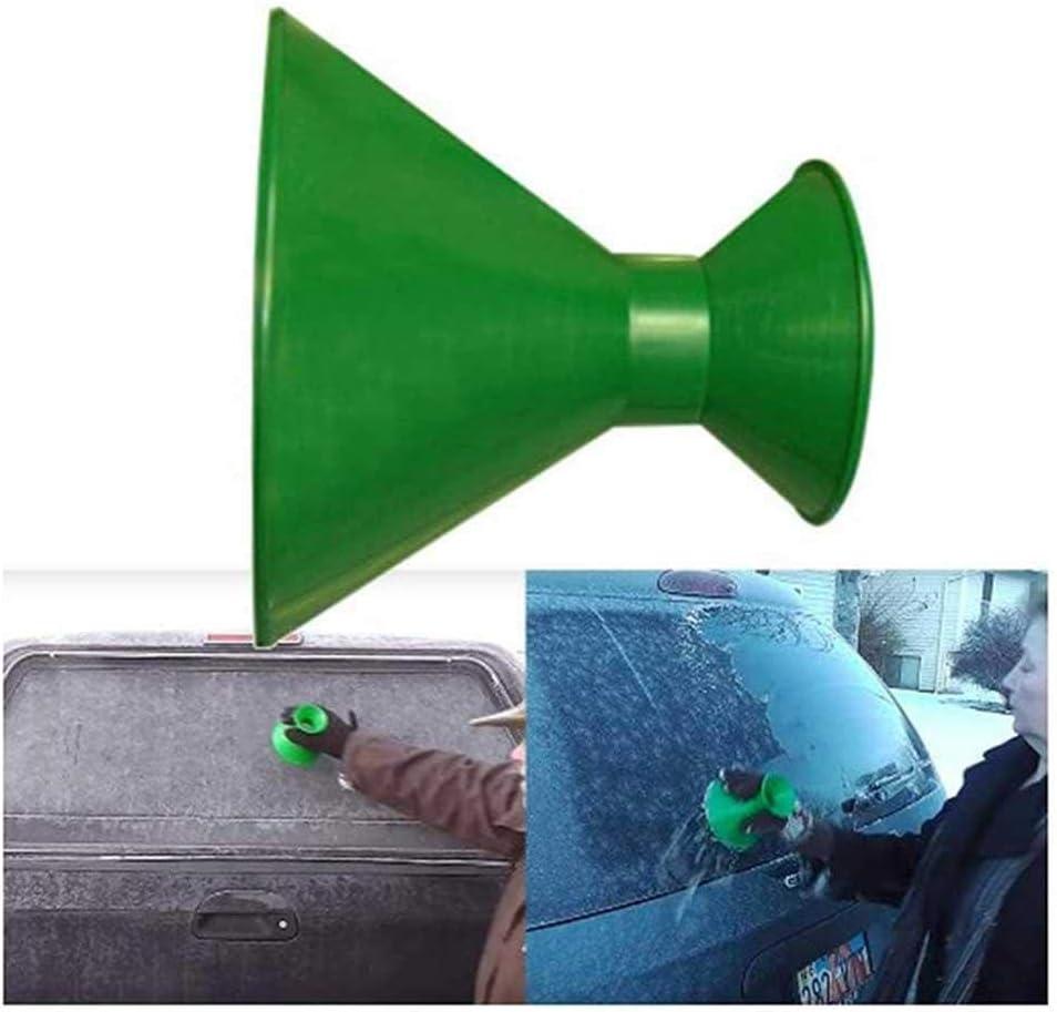 Blu Womdee Parabrezza L 2/in 1/a Rotonda Raschietto raschiare Magic Spazzola per Pulire Il Ghiaccio e Neve sulla Auto