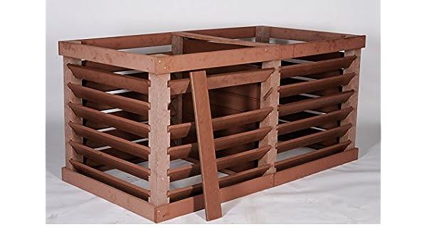 Vario compostador doble caja 2 x 1000 l): Amazon.es: Jardín