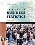Complete Business Statistics with Student CD 7th Edition