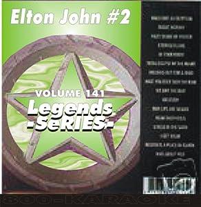 Elton John Karaoke Disc - Legends Series CDG