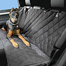 AUTOLOVER Muti-funtional Pet Seat Cover,Car Seat Cover for Pets,Hammock Designed,Waterproof,Non-Scratch,Non-Slip,Dog Seat Cover for Cars Trucks and SUVs