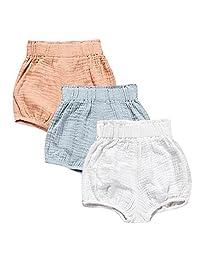 Baby 3-Pack Boys Girls Unisex Summer Shorts