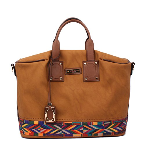 nikky-by-nicole-lee-shopper-bag-brown