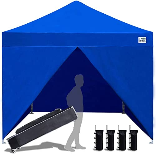 Eurmax 10 x 10 Pop up Canopy Commercial Tent Outdoor Instant Canopies Party Shelter