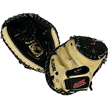 All Star Youth Catchers Baseball Glove Closed Tan/Black 31.5 Right Hand