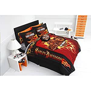 Harley Davidson Bedding Queen Size