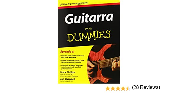 Guitarra para Dummies / Guitar for Dummies: Amazon.es: Philips ...