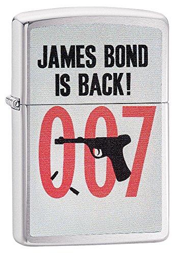 007 Gun Barrel - Zippo James Bond is Back Pocket Lighter