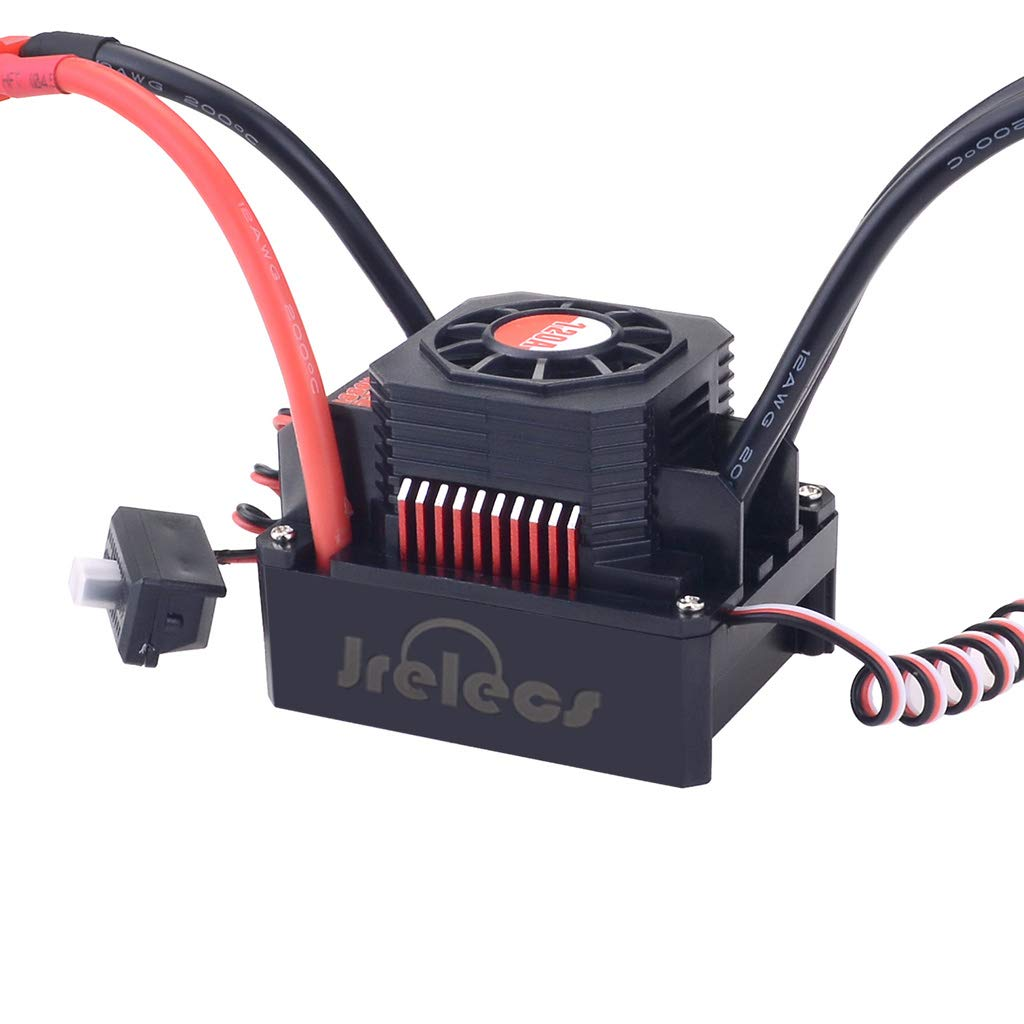 Jrelecs All Waterproof 120A ESC Electric Speed Controller (All Waterproof 120A)