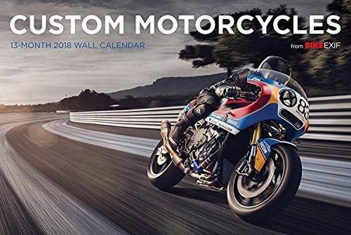 2018 The World's Finest CUSTOM MOTORCYCLES DELUXE WALL Calendar