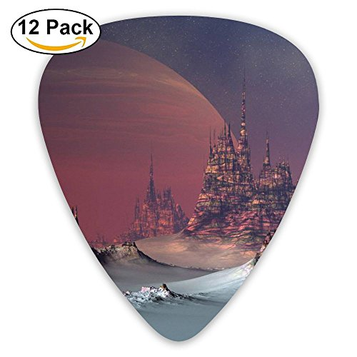 Guitar Picks Happy Tree Planting Day Happy Arbor Day Medium Customized Complete Assorted 12 Pack - Arbor Bass