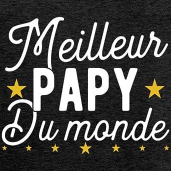 Spreadshirt Papy du Monde /étoile D/ébardeur Premium Homme
