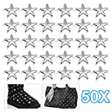 TOOGOO(R) 50 x Star Studs Claw Rivet - Leather Crafts Costumes Bags Jeans Belts Shoes