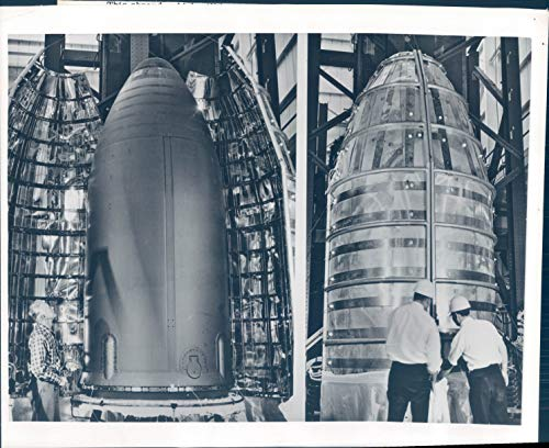 Vintage Photos 1964 Press Photo Historic NASA Spacecraft Mariner C Lockheed Missiles 8x10